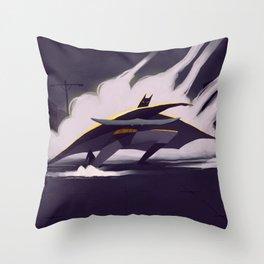 The Darth Knight Throw Pillow