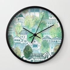 Cambodian Village Wall Clock