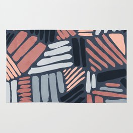 Dots and Lines - Strokes 1 Rug