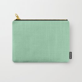 Turquoise green - solid color Carry-All Pouch