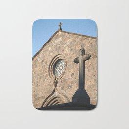 Church in Azores islands Bath Mat
