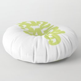 Numeric Number Pattern Floor Pillow