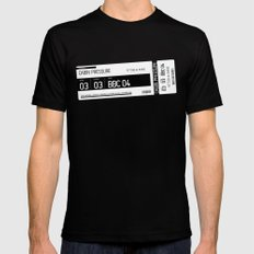 MJN Air SMALL Black Mens Fitted Tee