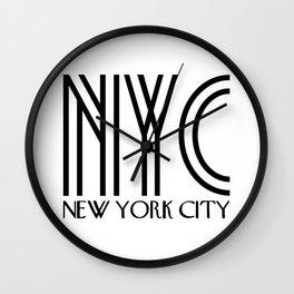 NYC - New York City Wall Clock