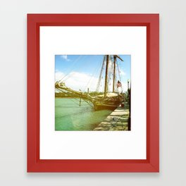 Ahoy, Matey, Chicago, 2011 Framed Art Print