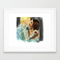 stucky Framed Art Prints featuring Stucky Home at last by Pruoviare