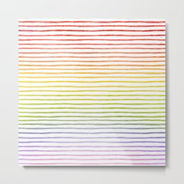 more rainbows please Metal Print