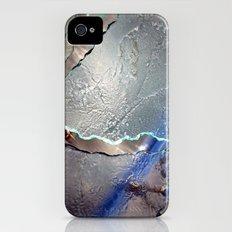 Something blue iPhone (4, 4s) Slim Case