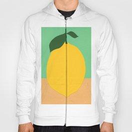 Lemon With Two Leaves Hoody