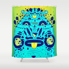 soggy froggy Shower Curtain