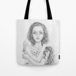 Aetherios   Behold Tote Bag