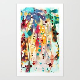 Mulberry Jane Art Print