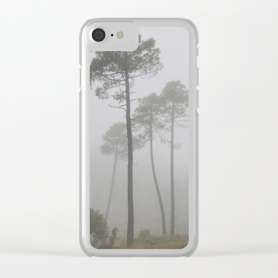 """Wind traces"". Forest dreams Clear iPhone Case"