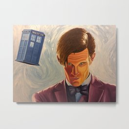 Doctor Who - Matt Smith Metal Print