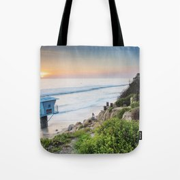 Pipes Beach Tote Bag