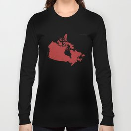 National Parks and Reservoirs of Canada Long Sleeve T-shirt