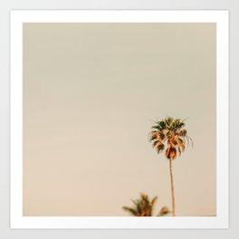Minimal Palms Art Print
