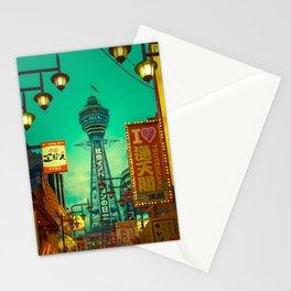 Osaka Nights - Shinsekai, New World / Liam Wong Stationery Cards