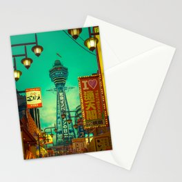 Osaka Nights - Shinsekai, New World / Liam Wong Stationery Cards