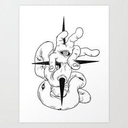 handeye Art Print