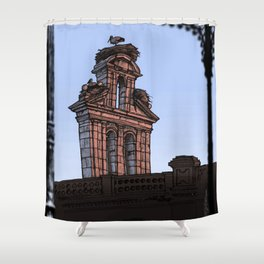 Bell Gable (color) Shower Curtain