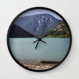 Washington Ross Lake  Wall Clock