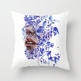 Garden VII Throw Pillow