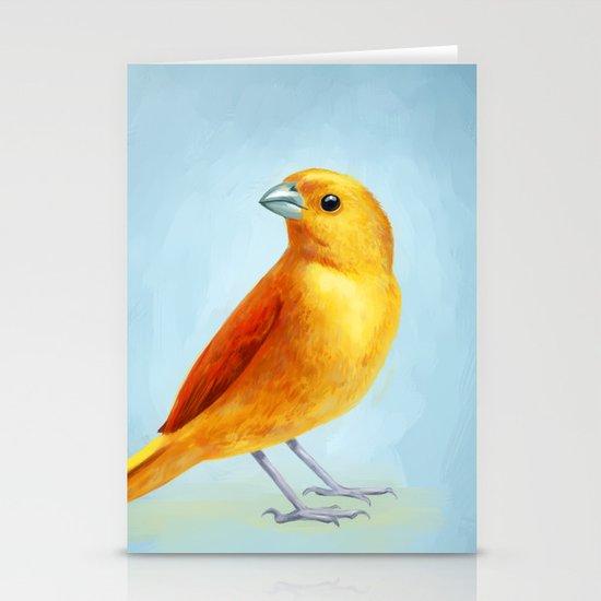 Wild Canary Stationery Cards