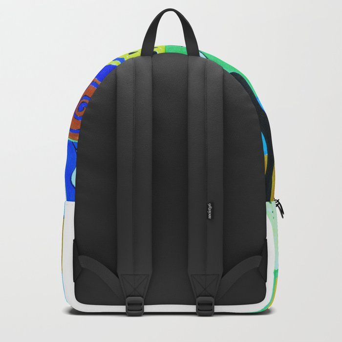 inspiration from Matisse . Gift Ideas for Him and Her . Backpack