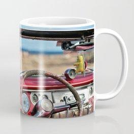 Retro automobile interior Coffee Mug
