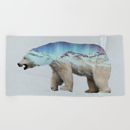 The Arctic Polar Bear Beach Towel