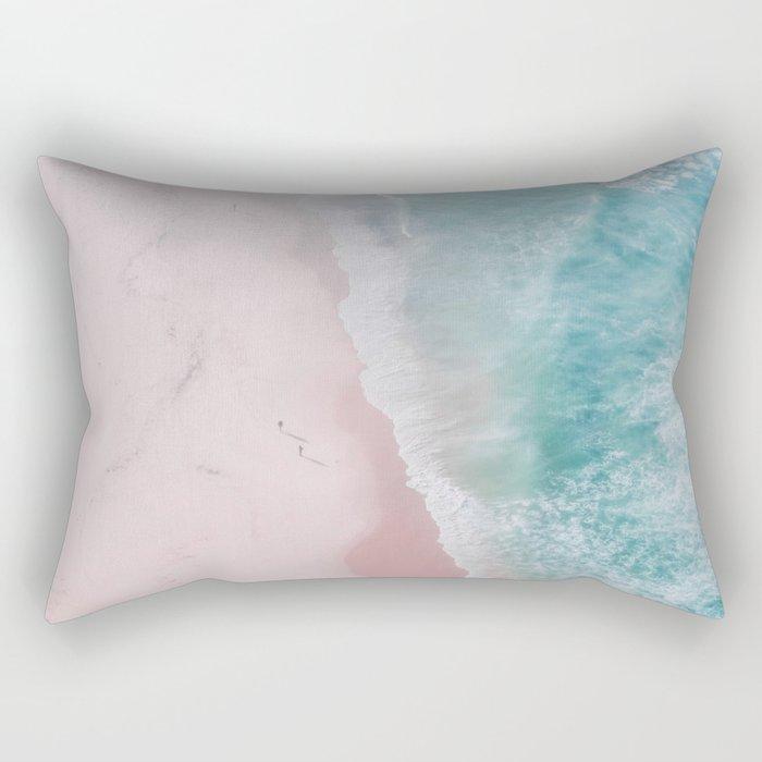 ocean walk Rectangular Pillow