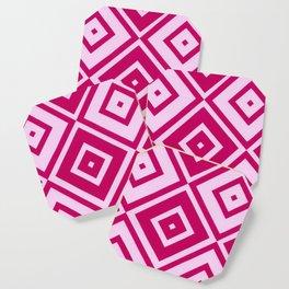 Pink Diamonds Coaster
