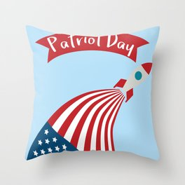 Patriot Day - September 11 - Send the best Wish to those who suffered Throw Pillow