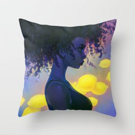 sour Throw Pillow