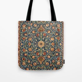 William Morris Floral Carpet Print Tote Bag