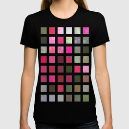 Crape Myrtle Abstract Rectangles 2 T-shirt