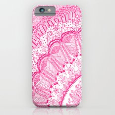 Doodle Madness PINK iPhone 6s Slim Case