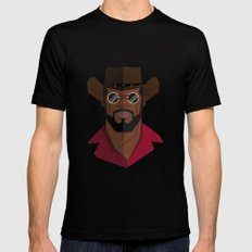 Django Unchained Black SMALL Mens Fitted Tee