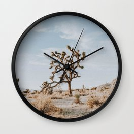 Joshua Tree II / California Desert Wall Clock