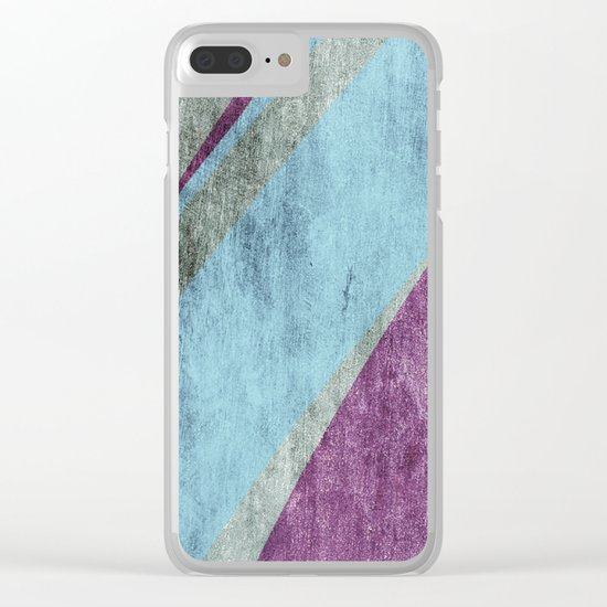 overlaps Clear iPhone Case
