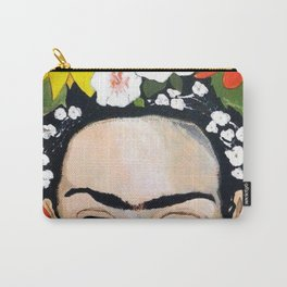 My Frida's Flowers Carry-All Pouch