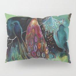 """""""Light Trio"""" Original Painting by Flora Bowley Pillow Sham"""