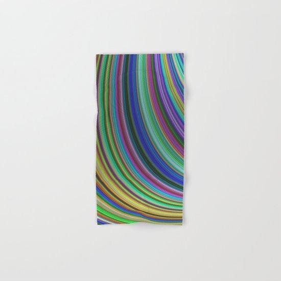 Striped fantasy Hand & Bath Towel
