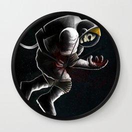 Space death Wall Clock