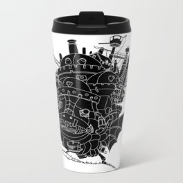 Howl's moving castle. Metal Travel Mug