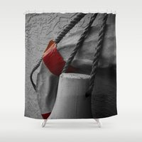 nautical Shower Curtains featuring Nautical  by Asylum Photography