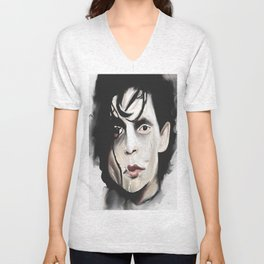 Edward Scissorhands Unisex V-Neck