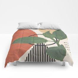 Nature Geometry III Comforters