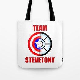 """Team SteveTony - """"Together."""" Tote Bag"""